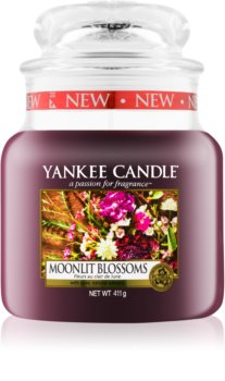 Yankee Candle Moonlit Blossoms scented candle Classic Medium