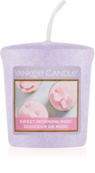 Yankee Candle Sweet Morning Rose votívna sviečka