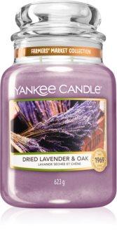 Yankee Candle Dried Lavender & Oak ароматна свещ  Classic голяма