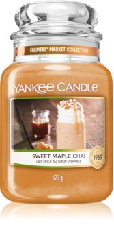 Yankee Candle Sweet Maple Chai geurkaars Classic Large