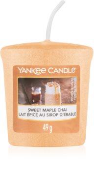 Yankee Candle Sweet Maple Chai velas votivas