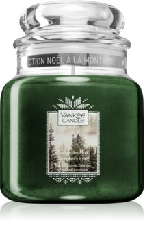 Yankee Candle Evergreen Mist lumânare parfumată