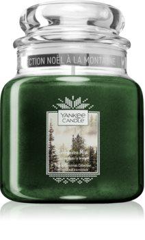 Yankee Candle Evergreen Mist vonná sviečka