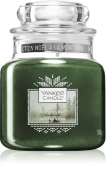 Yankee Candle Evergreen Mist bougie parfumée Classic petite