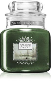 Yankee Candle Evergreen Mist ароматическая свеча Classic маленькая