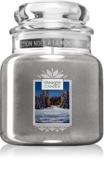 Yankee Candle Candlelit Cabin vonná svíčka Classic střední