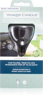 Yankee Candle Clean Cotton Sähköinen diffuuseri autoon
