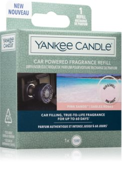 Yankee Candle Pink Sands aроматизатор за автомобил пълнител