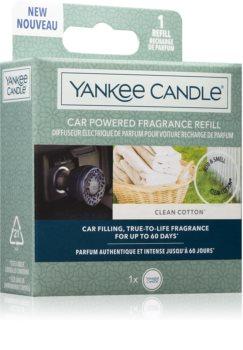 Yankee Candle Clean Cotton odświeżacz do samochodu napełnienie