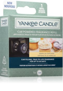 Yankee Candle Vanilla Cupcake désodorisant voiture recharge I.