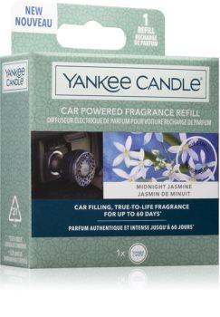 Yankee Candle Midnight Jasmine vůně do auta náhradní náplň