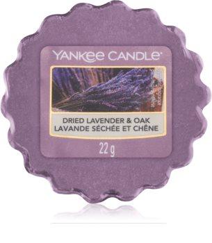 Yankee Candle Dried Lavender & Oak illatos viasz aromalámpába