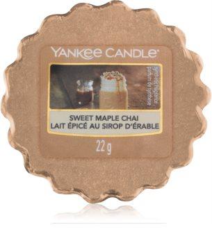 Yankee Candle Sweet Maple Chai cera para lámparas aromáticas