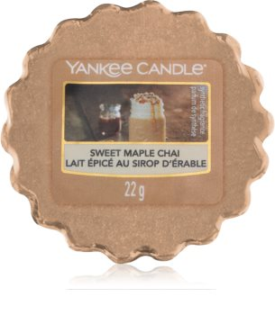 Yankee Candle Sweet Maple Chai tartelette en cire
