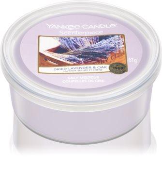 Yankee Candle Dried Lavender & Oak восък за електрическа аромалампа