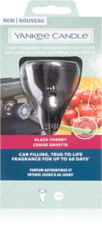 Yankee Candle Black Cherry diffusore elettrico con ricarica