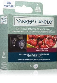Yankee Candle Black Cherry odświeżacz do samochodu napełnienie