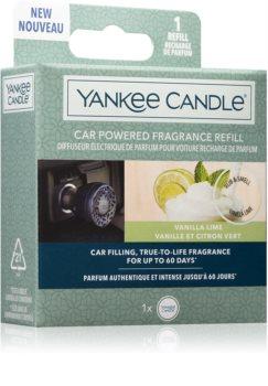Yankee Candle Vanilla Lime odświeżacz do samochodu napełnienie