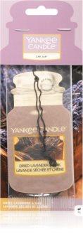 Yankee Candle Dried Lavender & Oak auto luchtverfrisser hangend