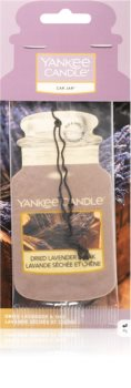 Yankee Candle Dried Lavender & Oak hanging car air freshener