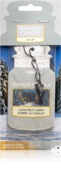 Yankee Candle Candlelit Cabin hanging car air freshener