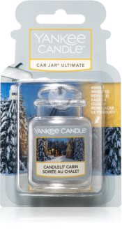 Yankee Candle Candlelit Cabin ароматизатор для салона автомобиля подвесной