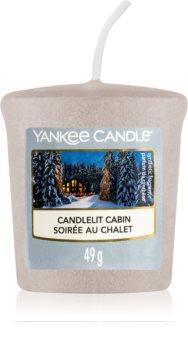 Yankee Candle Candlelit Cabin votívna sviečka
