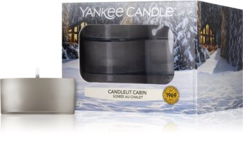 Yankee Candle Candlelit Cabin tealight candle