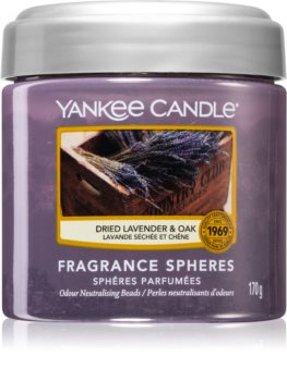 Yankee Candle Dried Lavender & Oak αρωματικές πέρλες