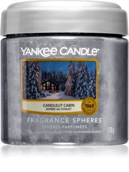 Yankee Candle Candlelit Cabin fragranced pearles