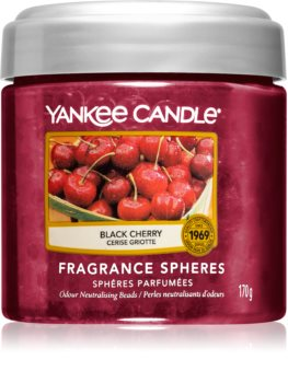 Yankee Candle Black Cherry fragranced pearles