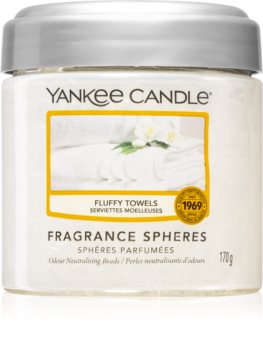 Yankee Candle Fluffy Towels fragranced pearles