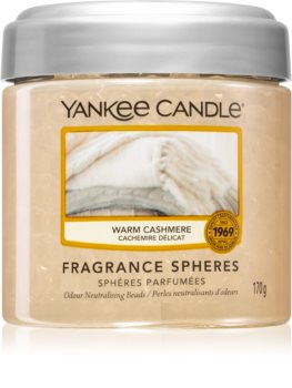 Yankee Candle Warm Cashmere fragranced pearles
