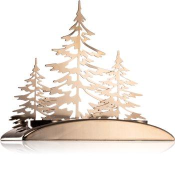 Yankee Candle Snowy Gatherings kovinski svečnik za čajno svečo