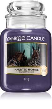 Yankee Candle Haunted Hayride scented candle Classic Large