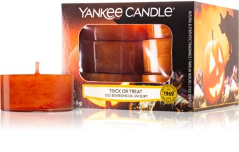 Yankee Candle Trick or Treat tealight candle