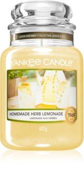 Yankee Candle Homemade Herb Lemonade lumânare parfumată  Clasic mare