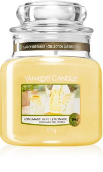Yankee Candle Homemade Herb Lemonade scented candle Classic Medium