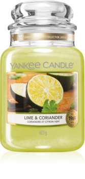 Yankee Candle Lime & Coriander scented candle