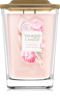 Yankee Candle Elevation Salt Mist Peony scented candle