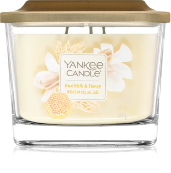 Yankee Candle Elevation Rice Milk & Honey Tuoksukynttilä