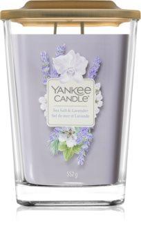 Yankee Candle Elevation Sea Salt & Lavender vonná svíčka