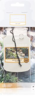 Yankee Candle Water Garden ароматическая карточка для салона автомобиля