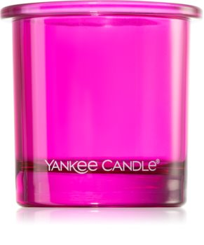 Yankee Candle Pop Pink candlestick for votive candle