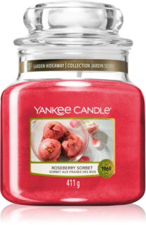 Yankee Candle Roseberry Sorbet vonná svíčka Classic střední