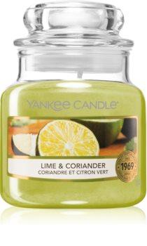 Yankee Candle Lime & Coriander vonná sviečka