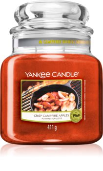 Yankee Candle Crisp Campfire Apple scented candle