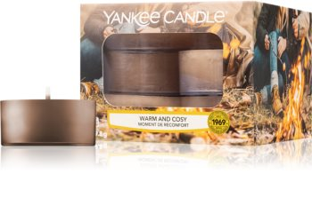 Yankee Candle Warm & Cosy teamécses