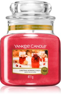 Yankee Candle Christmas Morning Punch scented candle