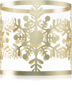 Yankee Candle Snowflake Frost свещник за ароматна свещ